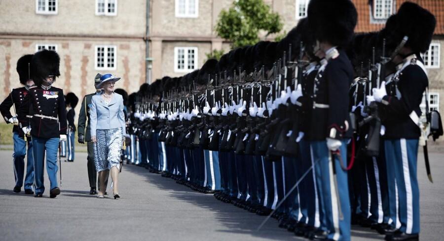 I anledning af Kong Frederik III den 30. juni 1658 oprettede Den Kongelige Livgarde fejrede regimentet sin 356. årsdag med en parade.