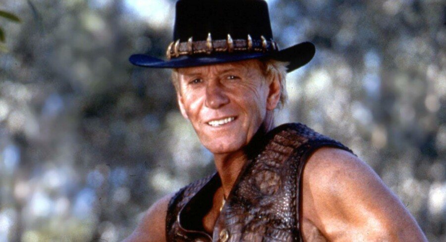 Paul Hogan alias Crocodile Dundee.