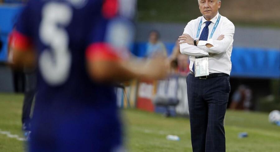 Alberto Zaccheroni har efter skuffende resultater sagt sit job som japansk landstræner op.