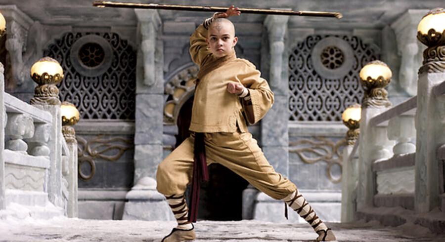 Drengen Aang – spillet af Noah Ringer – skal frelse sit folk i M. Night Shyamalan stort opsatte film.