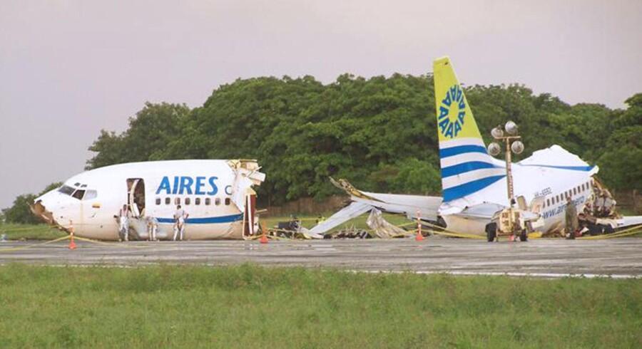 34 er kvæstet og en har mistet livet efter et fly forulykkede under landing.
