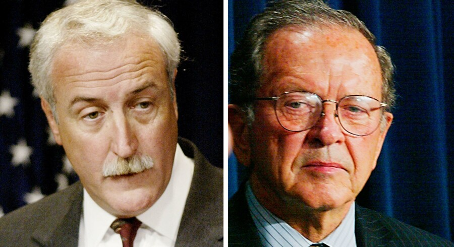 Sean O'Keefe og Ted Stevens.