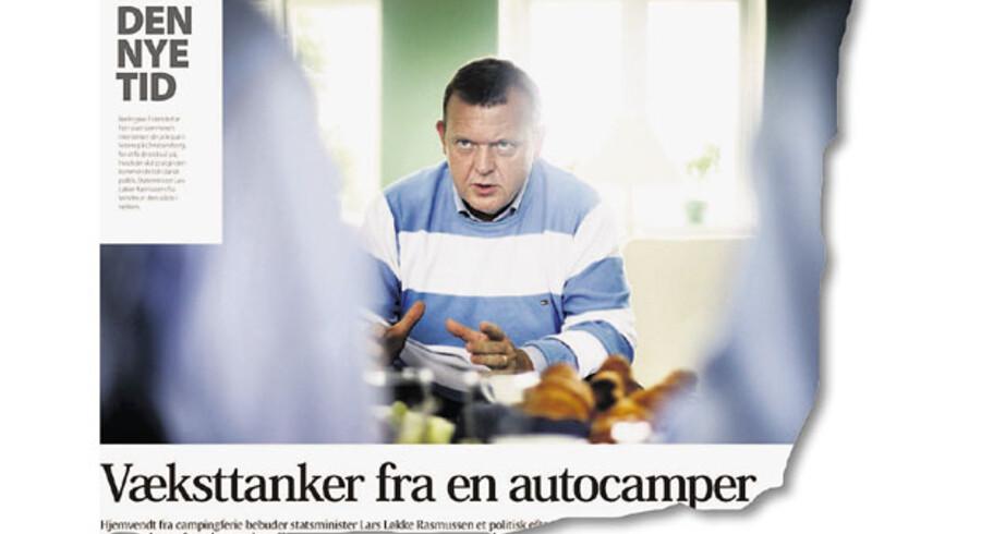 »Den realismens kurs, som statsminister Lars Løkke Rasmussen beskrev i et interview onsdag her i avisen, skal også indebære reformer. Men vi kan ikke blive ved med at vente på Socialdemokraterne. Dertil er problemerne for store.«