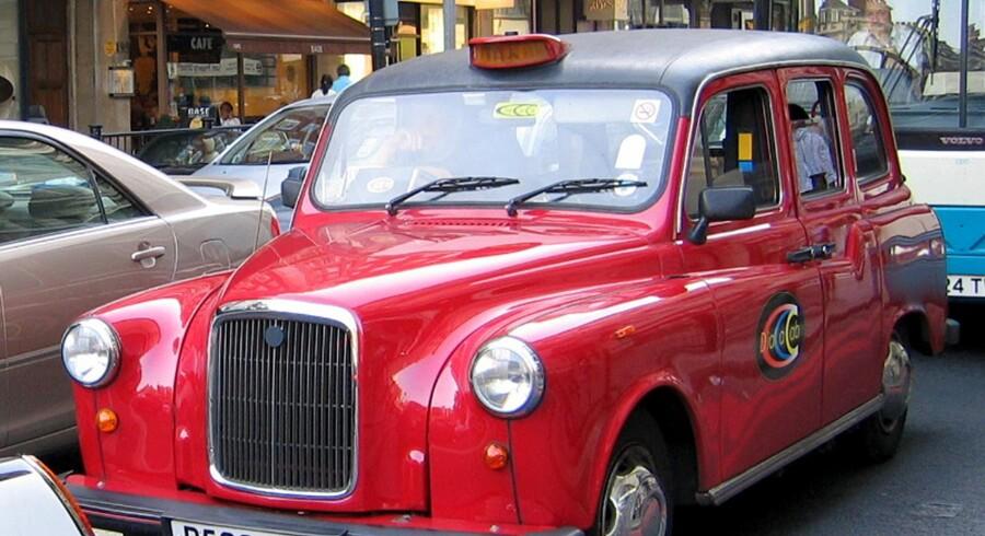 Londons taxaer fører blandt andet, når det gælder sikkerhed. Taxaerne i byen er netop blevet kåret til verdens bedste.