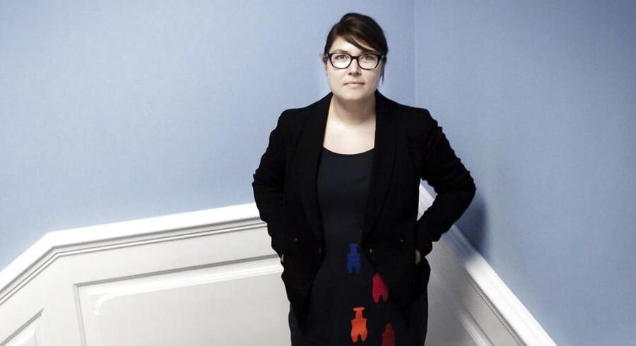 Sara Olsvig er ny formand for det grønlandske parti Inuit Ataqatigiit.