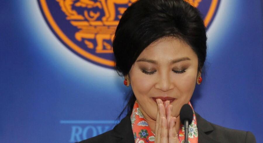 ARKIVFOTO. Den tidligere premierminister Yingluck Shinawatra.