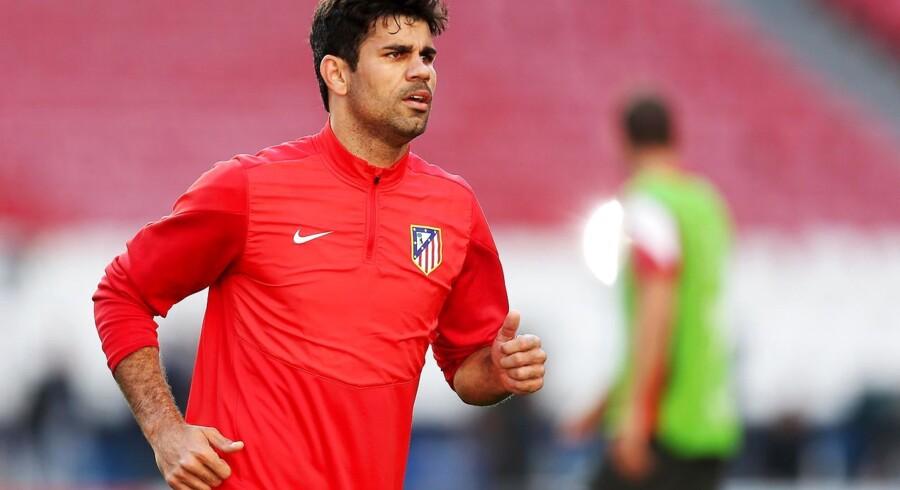 Atlético-bomber Diego Costa er mod alle odds blevet klar til Champions League-finalen, og han meldes med fra start.