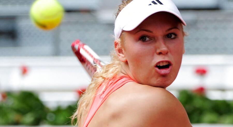Caroline Wozniacki deltager fra på søndag i de kommende to ugers French Open i Paris.
