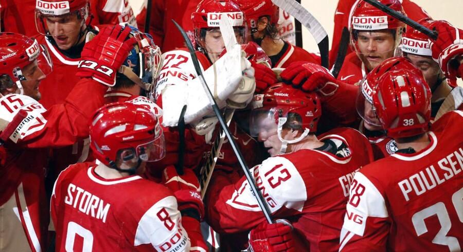 Danmark skal være vært for VM i ishockey i 2018