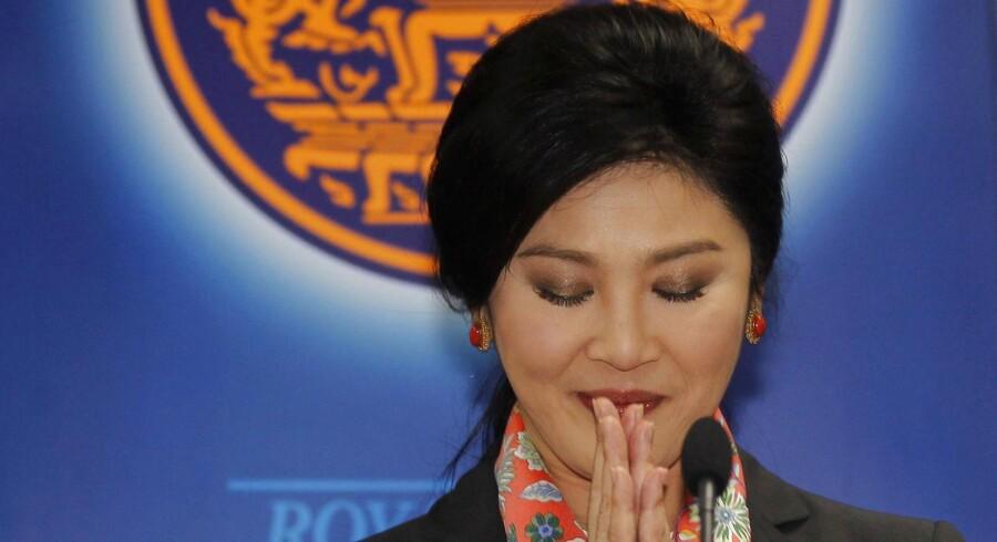 Miltæret, der har taget magten i Thailand, har fredag fængslet landets tidligere premierminister Yingluck Shinawatra