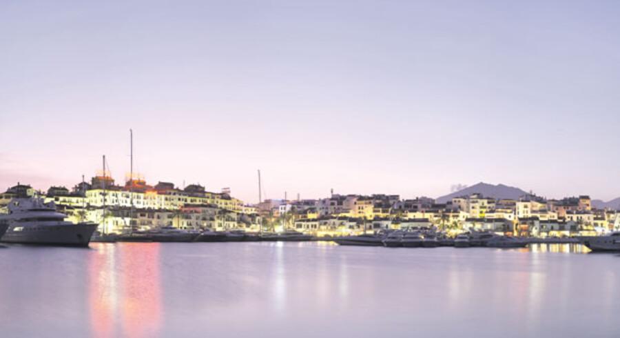 Puerto Banus - et mekka for turister, rigmænd og gangstere fra hele verden.