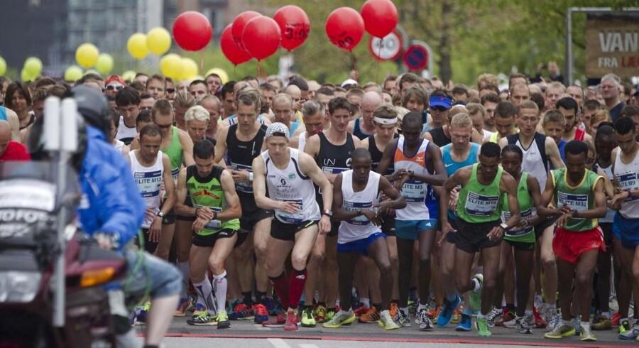 Søndag d. 18. maj 2014 afholdes der for 35 gang Nykredit Copenhagen Maraton i København. Mere end 12.000 mennesker deltager i alle aldre. Der vil være deltagere for 65 lande