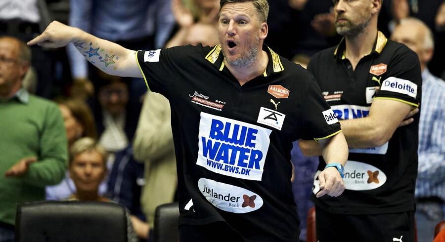 Nikolaj Jacobsen indrømmer, at det bliver svært at slå KIF Kolding.