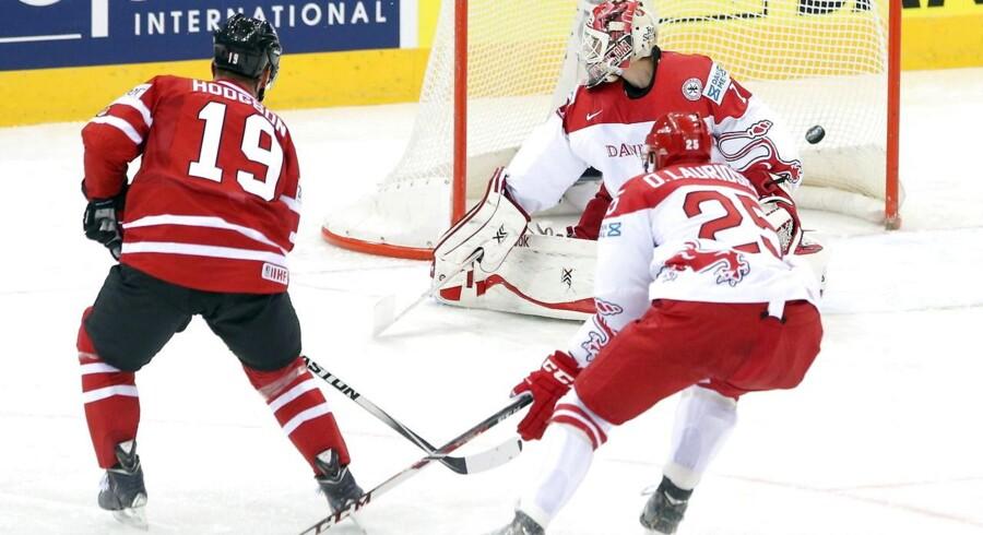 Oliver Lauridsen var ked af sin fejl mod Canada.