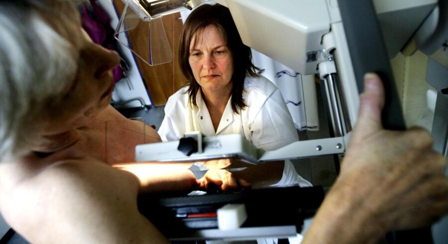 Screening for brystkræft på Bispebjerg Hospital.