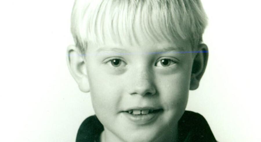 Barndomsbillede af politiets kronvidne mod Hells Angels, Kasper Vetter