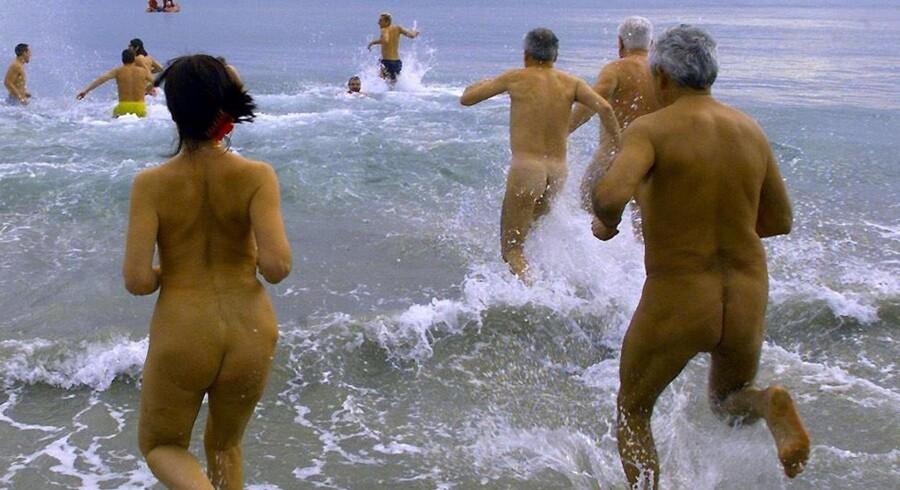 Det er blevet mere populært at være nudist.