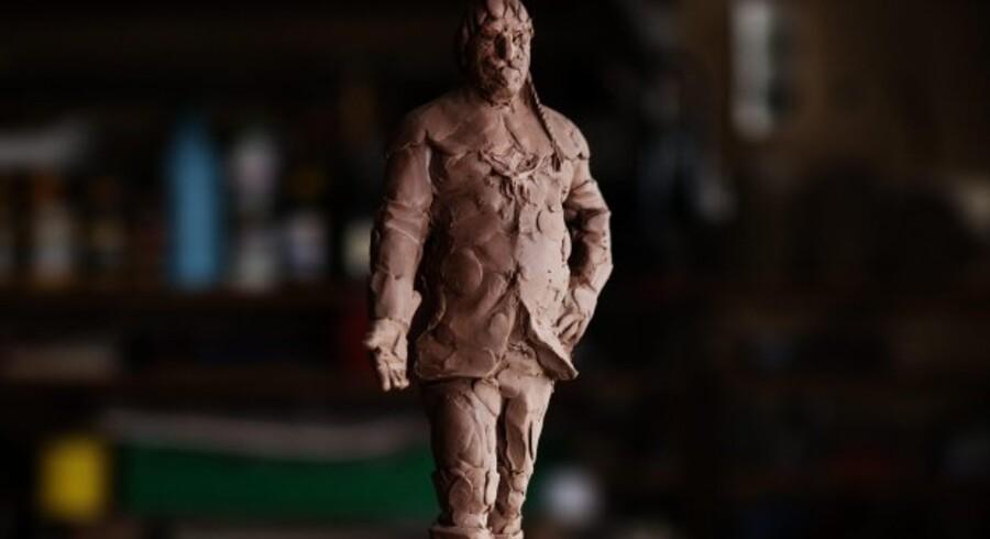 Den nye skulptur af Christian IV skal være fem meter høj, med den gamle bygherre stående på Rundetårn, flankeret af tårne fra Børsen og Rosenborg.