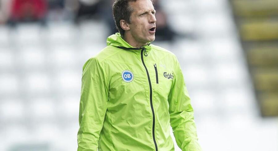 Troels Bech kan se frem til Peter Emil Jørgensen på førsteholdet