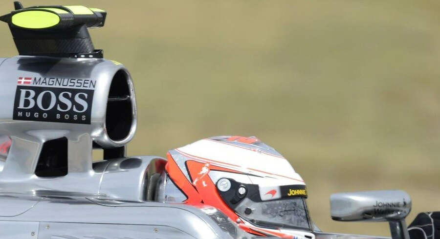 Magnussen blev ramt af uheld i sin kvalifikation