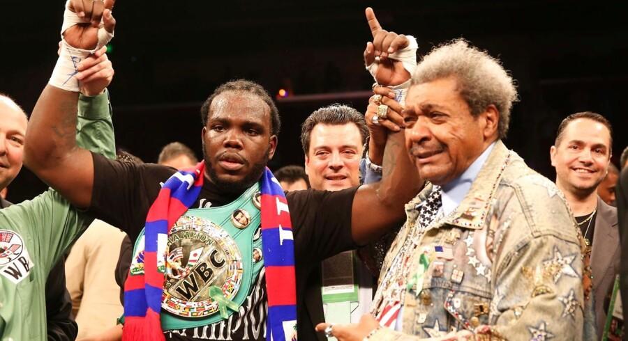 Don King er nu vendt tilbage til bokseverdenen.