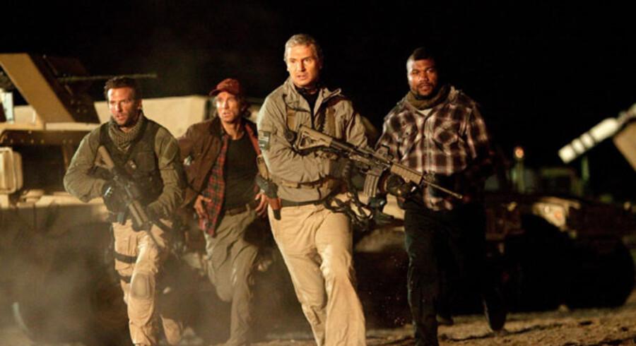 »The A-Team« er action, der vil underholde. Filmen er baseret på den gamle TV-serie fra 80erne.
