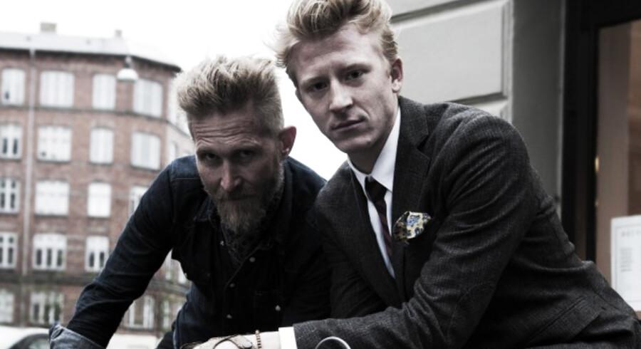 Brian Holm og Mads Herschend (th.)