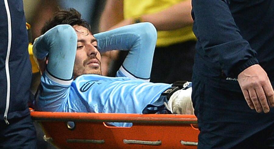 Manchester City og David Silva er sendt til tælling af UEFA.