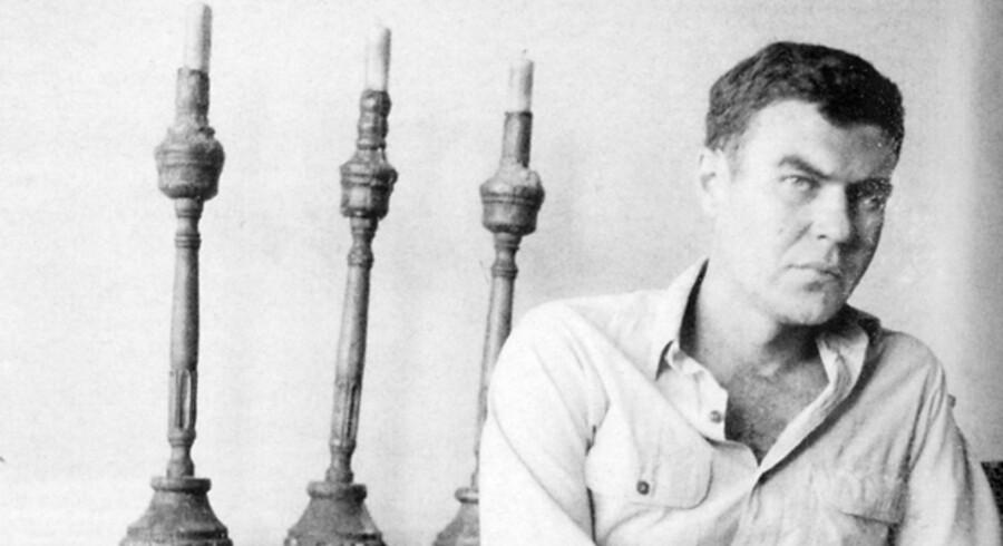 Raymond Carver skrev uden romantisk flitterstads om livet og virkeligheden. Foto fra bogen