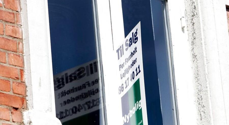 ARKIVFOTO. Boligkøbere mister nogle oplysninger i forbindelse med boligkøb, hvis en ny lov bliver vedtaget.