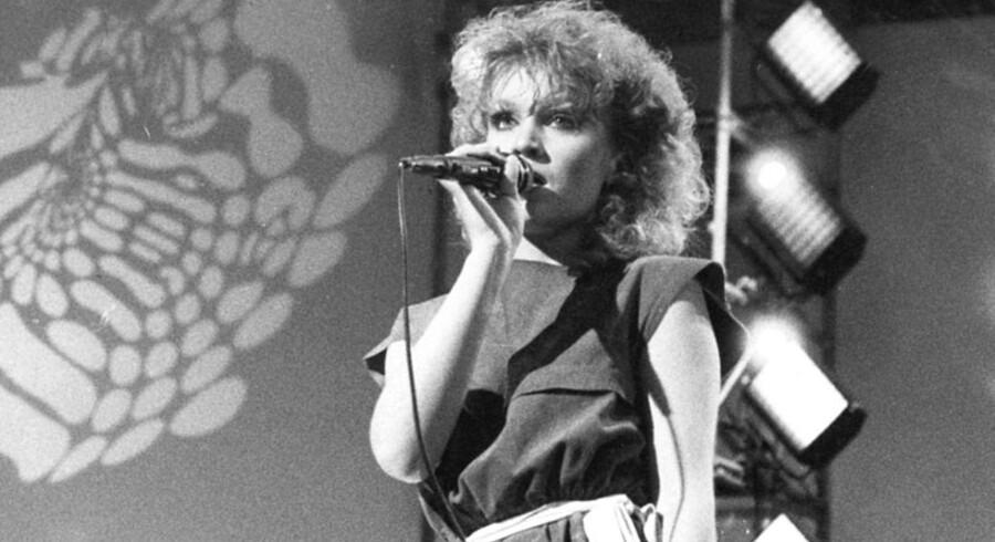 Gry Meilstrup til Melodi Grand Prix i 1983.