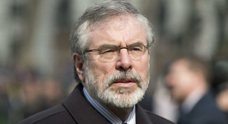 ARKIVFOTO. Gerry Adams.