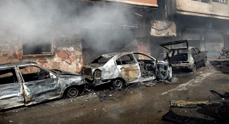 Homs, april 2014.