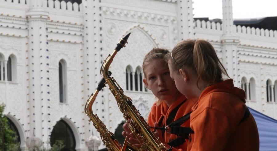 Tivoli slår dørene op for 6.600 børn som skal spille ved Musikskoledage i Tivoli. PR-foto