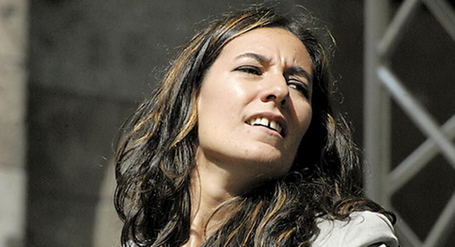 Alice Ricciardi spillede lørdag i Montmartre.