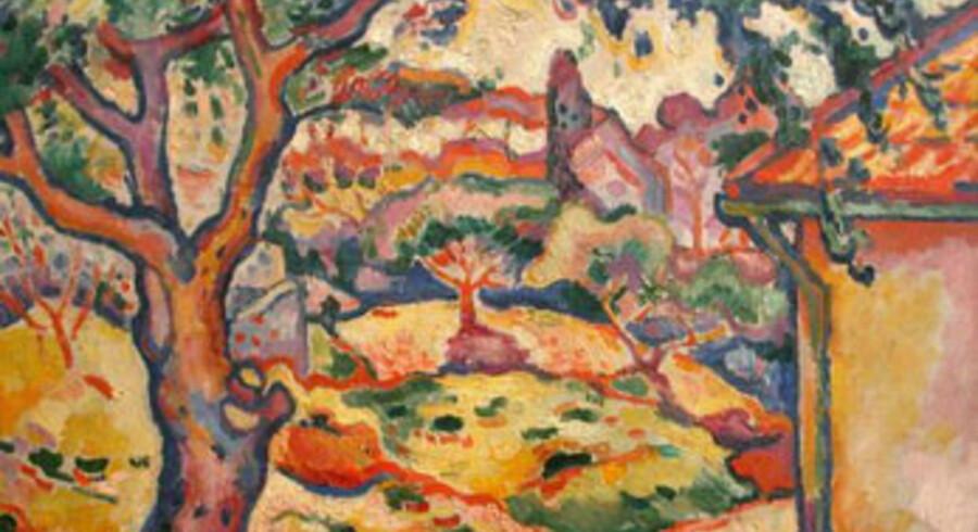 """""""L'olivier près de l'Estaque"""" af Georges Braque."""