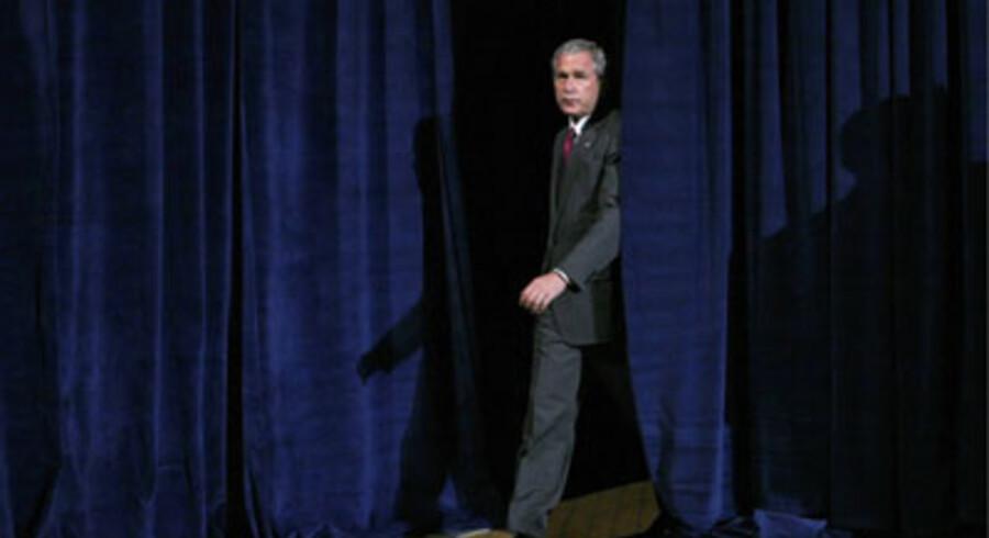 George W. Bush drømte om et permanent republikansk flertal i amerikansk politik ... Foto: Jim Young/Reuters