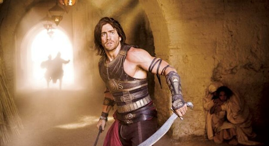 Jake Gyllenhaal er pumpet op til actionlir i »Prince of Persia«, der er produceret af folkene bag »Pirates of the Caribbean«-filmene.