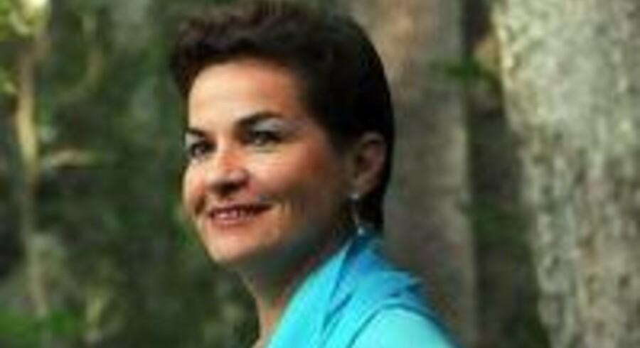 Christiana Figueres Olsen fra Costa Rica er FNs nye klimachef. Hun afløser hollænderen Yvo de Boer.