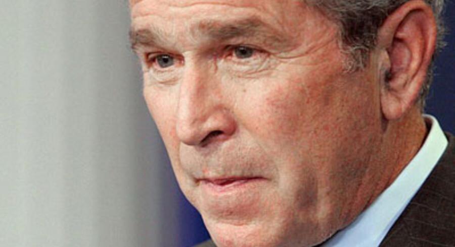 Bush og hans parti er i krise. Foto: AFP/Karen Bleier