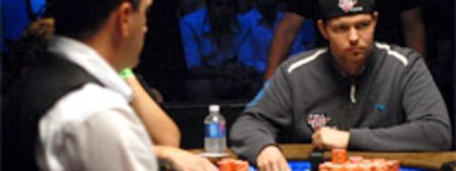 31-årige Philip Hilm her ved tv-selskabet ESPN's kameradækkede finalebord i Las Vegas. Foto: Stephy Sanders / IMPDI
