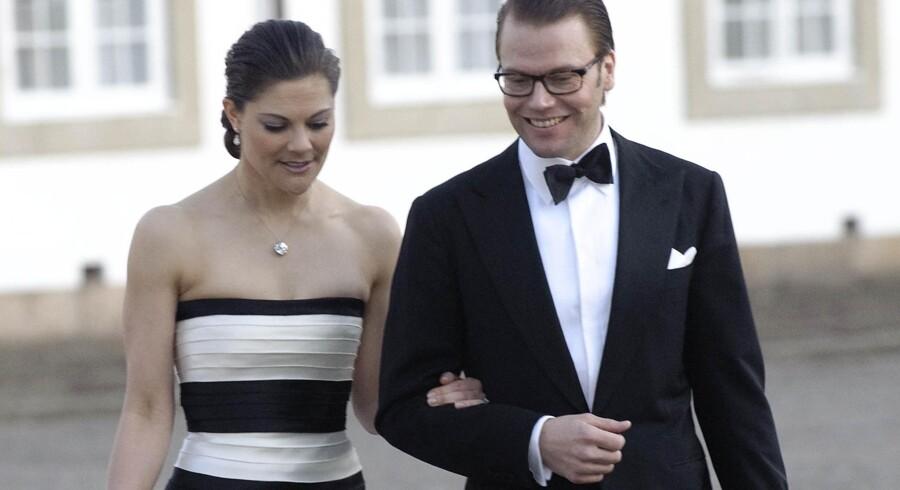 Kronprinsesse Victoria og Daniel Westlingkommer til at bo på en af Sveriges mest elektronisk overvågedeadresser.