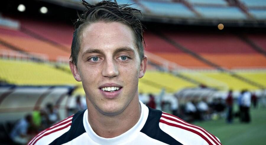 Rosenborg-spilleren Nicki Bille blev anholdt i København i sidste uge.
