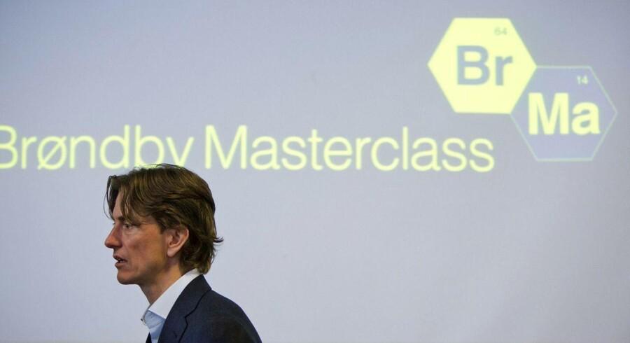 Thomas Frank og Brøndby lancerede mandag 'Brøndby Masterclass'.