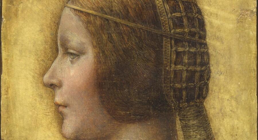Eksperter mener, at dette værk er La Bella Principessa af Leonardo da Vinci. Men Christie's solgte tegningen som tysk kunst fra det 19. århundrede.