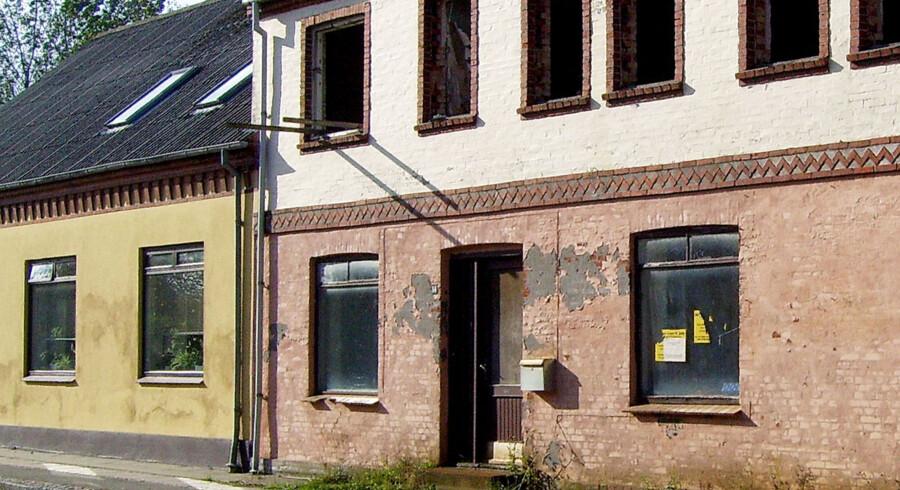 De mener selv, at byen er blevet grønnere og bedre at bo i. De triste huse i Klostergade gav et indtryk af en by på vej ned. PRIVATFOTO.