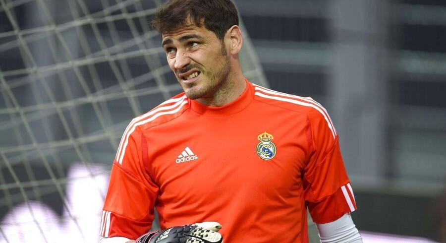 Iker Casillas var godt klar over, at hans mandskab ikke leverede den bedste kamp mod Dortmund.