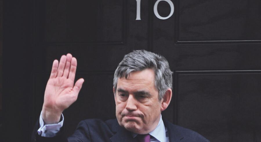 Gordon Brown meddelte i dag, at han i år vil træde tilbage som Labourleder.
