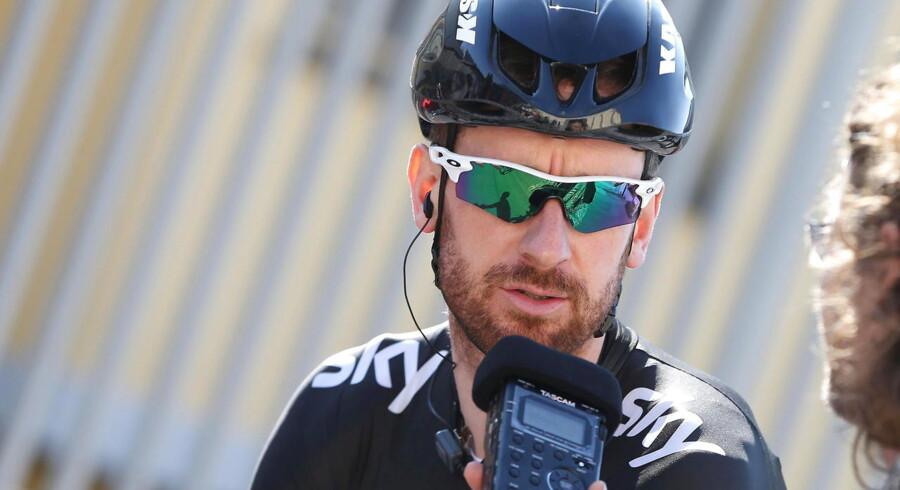 Det bliver Tour de France-vinderen fra 2012, englænderen sir Bradley Wiggins, der skal erstatte den skadede Ian Stannard på Team Sky til Flandern rundt på søndag.
