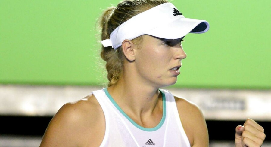 Caroline Wozniacki vandt over Coco Vanderweghe i Mexico.